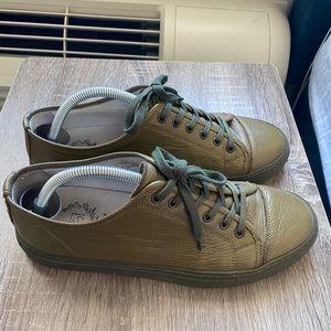 Del Toro   Sardinia Sneakers in Forest Green